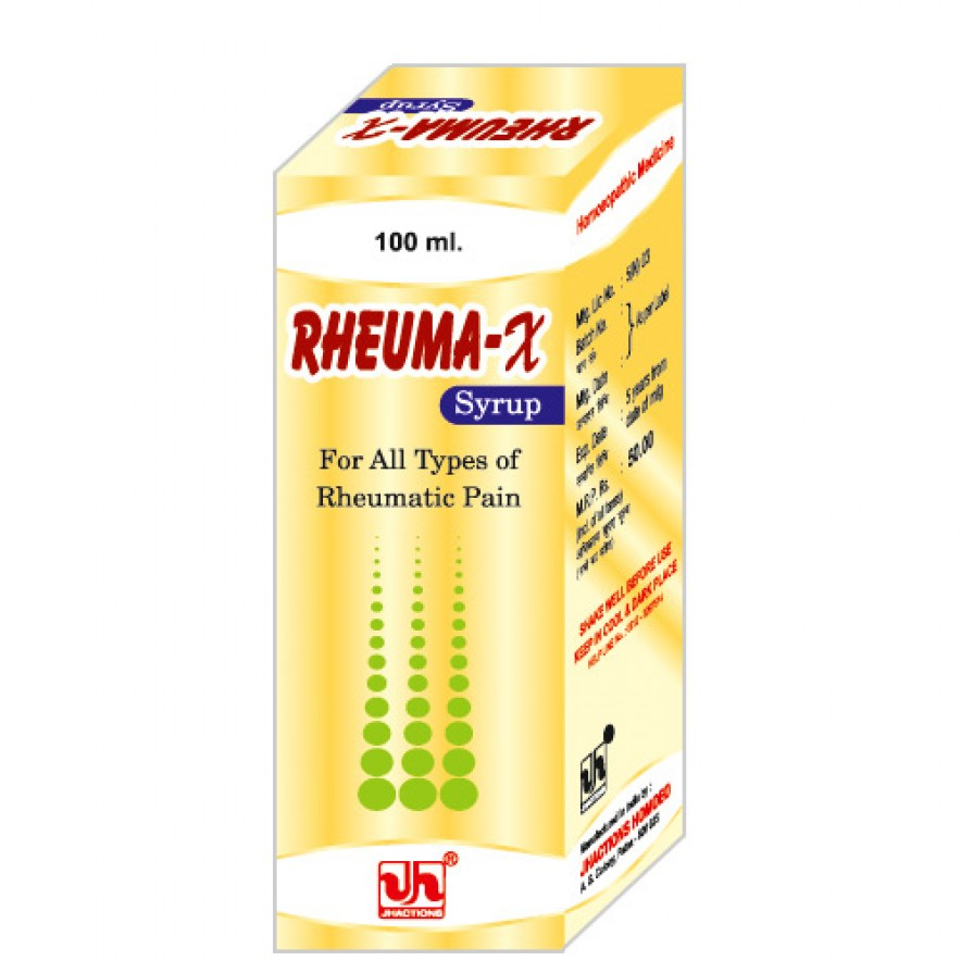 Homeopathic Medicine for Rheumatic & Muscular Pains